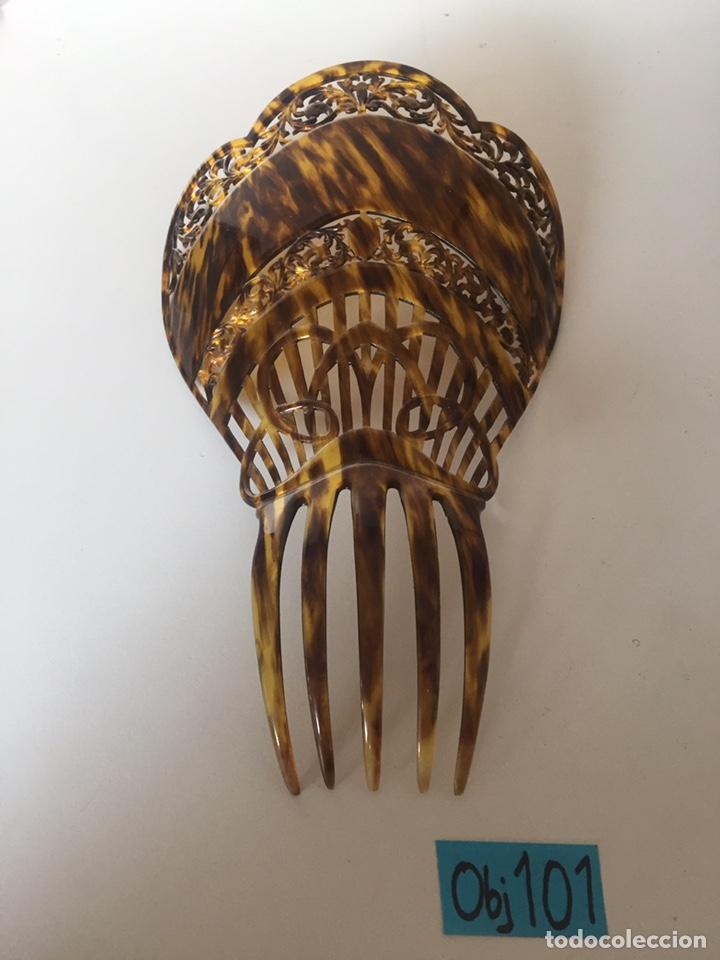 ANTIGUA PEINETA PRINCIPIO DE SIGLO (Antigüedades - Moda - Peinetas Antiguas)