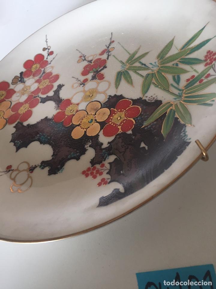 Antigüedades: Plato porcelana la Cartuja - Foto 2 - 221514571
