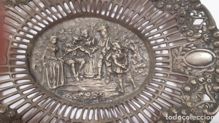 Antigüedades: Bandejita de plata - Foto 4 - 221516036