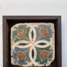 Antigüedades: AZULEJO SEVILLA SIGLO XVI. Lote 221538320