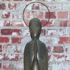 Antigüedades: VIRGEN INMACULADA EN HIERRO VINTAGE - FIRMADO SOBELL. Lote 221546325