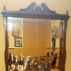 Antigüedades: MUEBLE ESPEJO CON CAJONES Y ZAPATERO. Lote 221549380