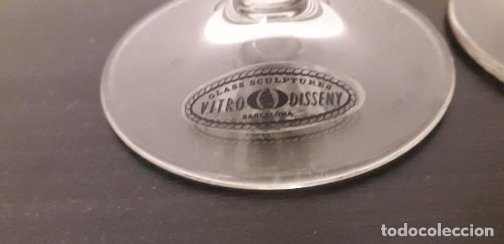 Antigüedades: 16-00215-COPAS BODA- vitro disseny - Foto 3 - 221552751