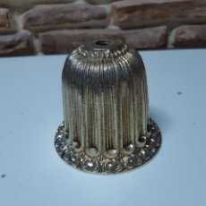 Antigüedades: FLOREN LATON O BRONCE PIEZA LAMPARA. Lote 221556795