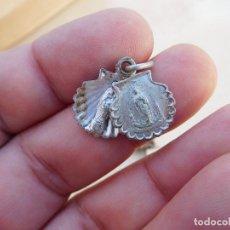 Antigüedades: MEDALLA ANTIGUA DE LA VIRGEN DEL PILAR. Lote 221557751