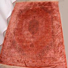 Antigüedades: PRECIOSA ALFOMBRA PERSA, 190X125, TONOS ROSADOS. Lote 221558458