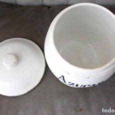 Antigüedades: BOTE PORCELANA MANISES, AZUCAR. Lote 221560010