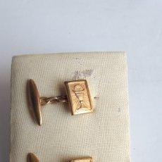 Antigüedades: GEMELOS PRIMERA COMUNIÓN. AÑOS 50. Lote 221565608
