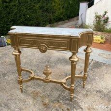 Antiquités: CONSOLA DORADA ISABELINA. Lote 221568717
