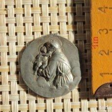 Antigüedades: ANTIGUA MEDALLA RELIGIOSA, S.XIX O PPOS XX. Lote 221572570
