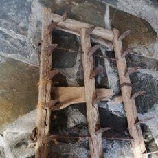 Antigüedades: GRADE O ARADO DE ARRASTRE SIGLO XIX. Lote 221576112