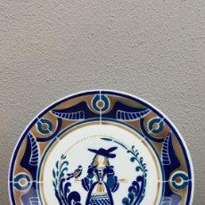 Antigüedades: PLATO SERIE: A MULLER E O PAXARO. HOMENAXE A ALBERTO DA CERÁMICA DE SARGADELOS. DESCATALOGADO.. Lote 221585360