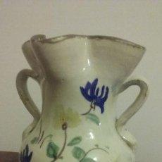 Antigüedades: JARRA CUATRO PICOS (23 CM). ANDUJAR? S XIX. Lote 221627215