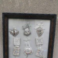 Antigüedades: ESCAPULARIOS DE TRAPO. Lote 221638118