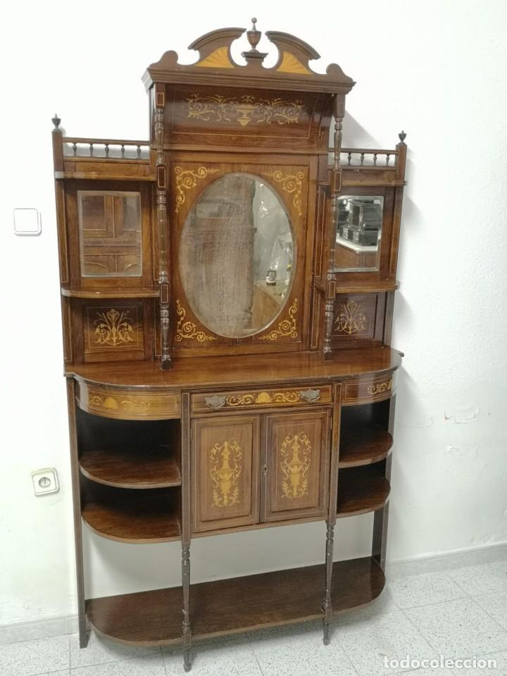 APARADOR EDUARDIANO 1890-1900 (Antigüedades - Muebles Antiguos - Aparadores Antiguos)