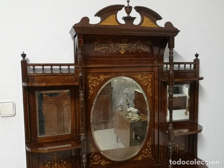 Antigüedades: APARADOR EDUARDIANO 1890-1900 - Foto 2 - 221649508