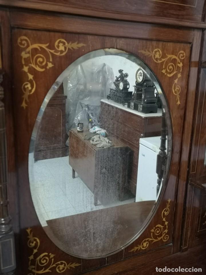 Antigüedades: APARADOR EDUARDIANO 1890-1900 - Foto 11 - 221649508