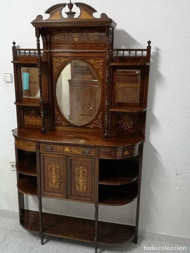Antigüedades: APARADOR EDUARDIANO 1890-1900 - Foto 15 - 221649508