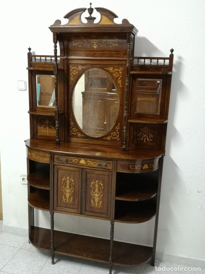 Antigüedades: APARADOR EDUARDIANO 1890-1900 - Foto 18 - 221649508