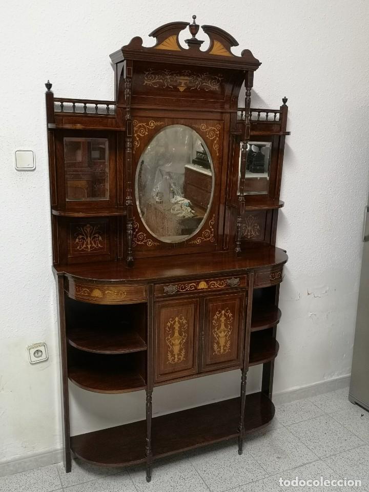 Antigüedades: APARADOR EDUARDIANO 1890-1900 - Foto 19 - 221649508