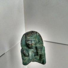 Antigüedades: EGIPTO ANTIGUO - FIGURA EN BRONCE - RECUERDO GRAN TOUR SOUVENIR - SIGLOS XIX-XX - EXCEPCIONAL, RARA. Lote 221656518