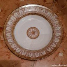 Antigüedades: PLATO HONDO PICKMAN - CHINA OPACA - MEDALLA DE ORO. Lote 221668433