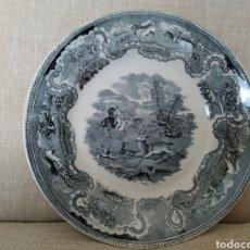 Antigüedades: PLATO CARTAGENA CAZA CIERVO. Lote 221670027