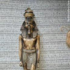 Antigüedades: ESCULTURA DE PIEDRA RAMSÉS II. Lote 221678015
