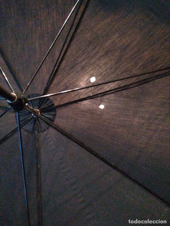 Antigüedades: Bastón paraguas antiguo doble uso - Foto 4 - 221700827