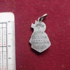 Antigüedades: MEDALLA CON PUBLICIDAD DE VALENCIA. PLATERÍA Y JOYERÍA GALIANA. Lote 221706747