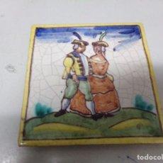 Antigüedades: AZULEJO CERAMICA CATALANA OFICIS. Lote 221712177