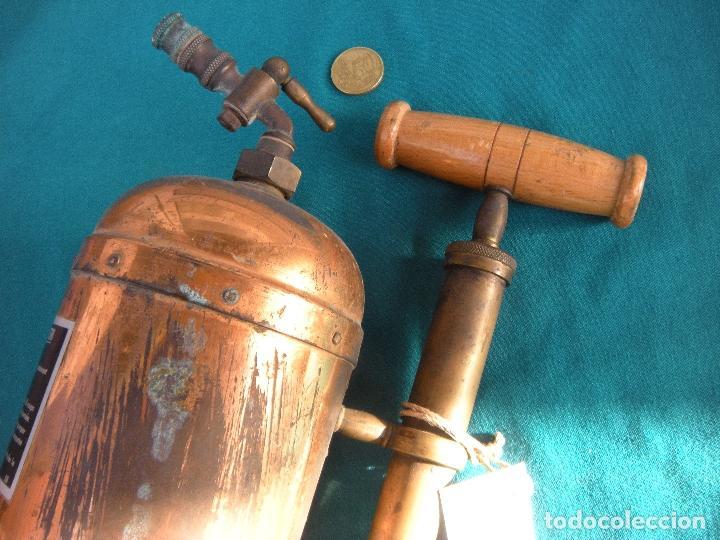 Antigüedades: PULVERIZADOR FUMIGADOR ATOMIZADOR MURATORI, PARIS. AGRICULTURA. - Foto 3 - 221738718