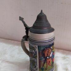 Antigüedades: ANTIGUA JARRA DE CERVEZA ALEMANA. Lote 221740560