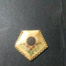 Antigüedades: ANTIGUO RELICARIO ,CON TROZITO DE TELA EN SU INTERIOR. Lote 221741018