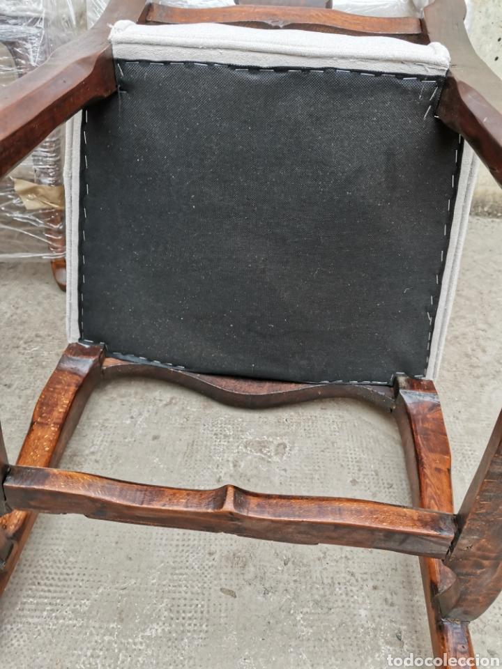 Antigüedades: 6 sillas reina Ana del xviii - Foto 4 - 221753215