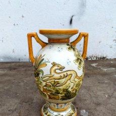 Antigüedades: ANTIGUO JARRÓN DE TALAVERA. Lote 221763436