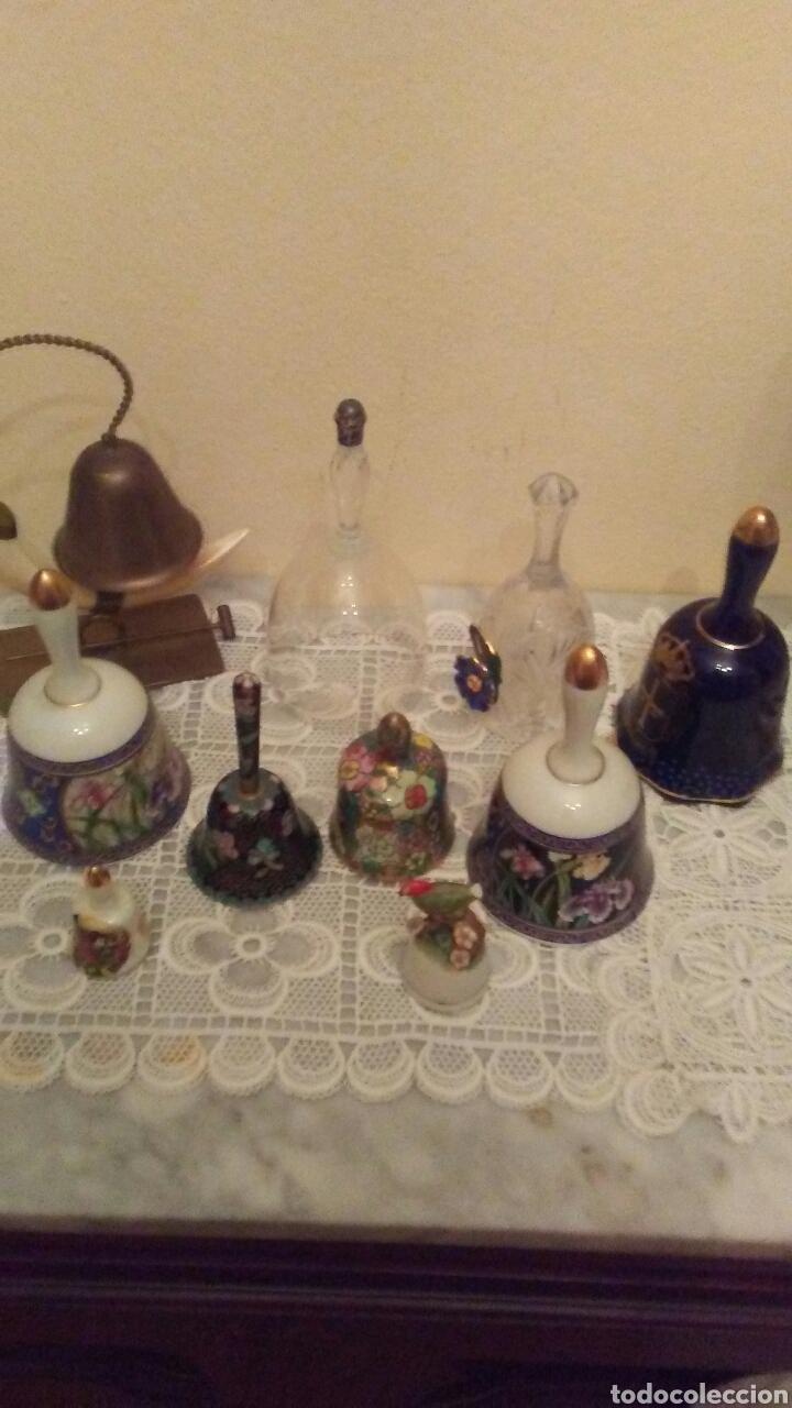 Antigüedades: Lote campanas surtido.(ver fotos y leer descripción) - Foto 2 - 221767756