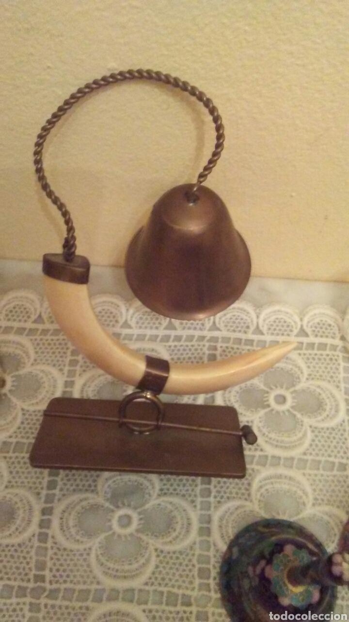 Antigüedades: Lote campanas surtido.(ver fotos y leer descripción) - Foto 3 - 221767756