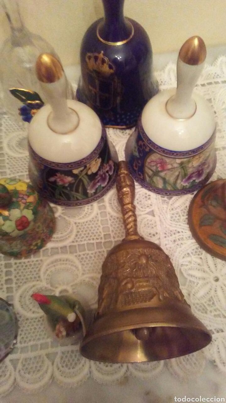Antigüedades: Lote campanas surtido.(ver fotos y leer descripción) - Foto 4 - 221767756