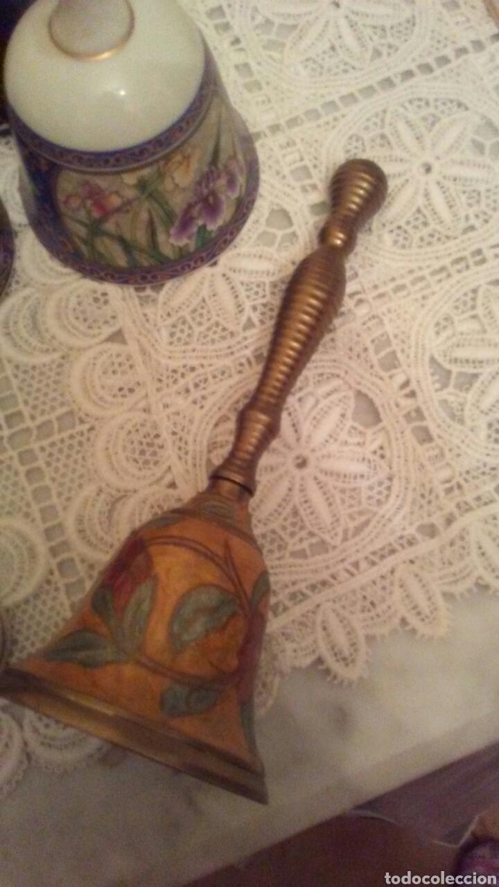 Antigüedades: Lote campanas surtido.(ver fotos y leer descripción) - Foto 6 - 221767756