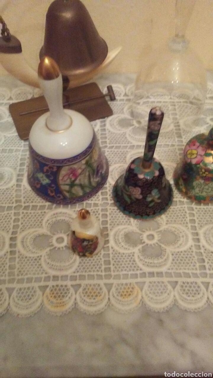 Antigüedades: Lote campanas surtido.(ver fotos y leer descripción) - Foto 8 - 221767756