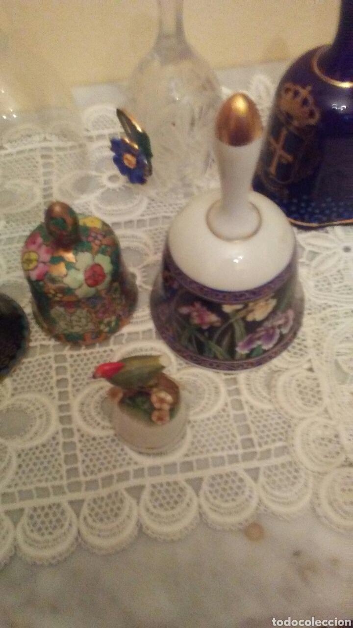 Antigüedades: Lote campanas surtido.(ver fotos y leer descripción) - Foto 10 - 221767756
