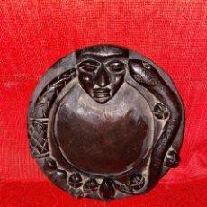 Antigüedades: OPON IFA, OPON AYAJO, PARA PREPARAR AKOSE MEDICINAS, YORUBA, IFA TRADICIONAL.. Lote 221786712