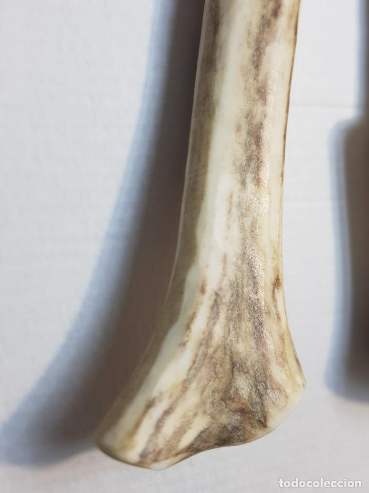 Antigüedades: Útiles agrícolas totalmente artesanos hoz y cuchillo recogida - Foto 6 - 221794785