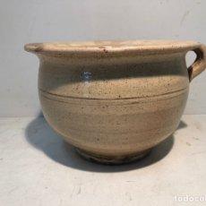 Antigüedades: ANTIGUO ORINAL DE CERAMICA POPULAR CATALANA.. Lote 221797451