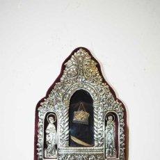 Antigüedades: BENDITERA DE PLATA DE LEY. Lote 221805022