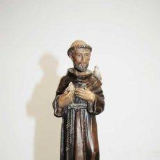 Antigüedades: FIGURA RELIGIOSA SAN FRANCISCO DE ASÍS. Lote 221805425