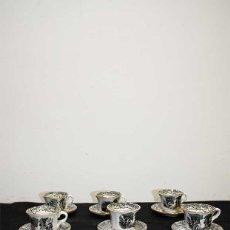 Antigüedades: TAZAS LA CARTUJA DE SEVILLA. Lote 221806201