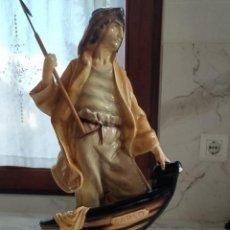 Antigüedades: FIGURA ARPONERO LLADRO BALLENERO. Lote 221811760
