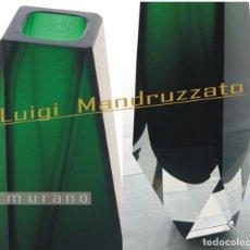 Antigüedades: CRISTAL MURANO- MANDRUZZATO / PERFECTO ESTADO. Lote 221822925